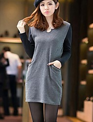 mulheres adicionar lã mostra nádegas pacote fino vestido