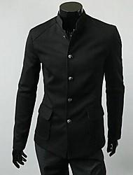 nuova annata monopetto giacca tunica tasca applicata uomini
