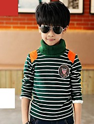 Boy's Winter High Collar T-shirt(More Colors)
