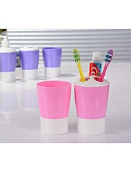 Creative Toothbrush Holder with Washing Cup Set Washing Sieve Supplies