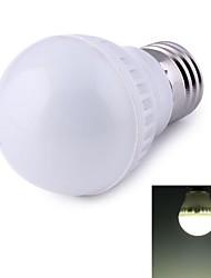 3W E26/E27 Ampoules Globe LED 9 SMD 2835 500 lm Blanc Naturel Décorative AC 100-240 V