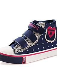 Sneakers Tendance (Bleu/Rose) - Coton - Confort