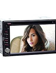 4.2 6.2 '' reproductores de DVD del coche alegre androide 2 din para Hyundia universales con gps, bt, rds, wifi, ipod, pantalla táctil capacitiva