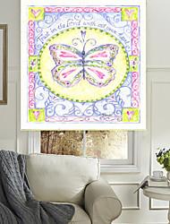 papillon coloré rouleau sahde