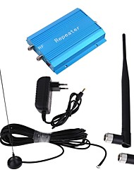 New GSM980 Blue Cell Mobile Phone Signal Amplifier Booster Repeater + Antenna