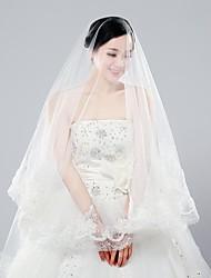 Classic Handmade Wedding Apparel Wedding Accessories Wedding Veils 3 Meters Long Two Colors Bride Veils