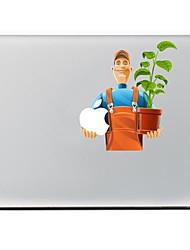 onderhoudsmedewerkers ontwerpen decoratieve skin sticker voor MacBook Air / Pro / Pro met Retina-display