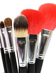 Professional Makeup Brushes Set 6pcs High Quality Nature Goat Hair Makeup Tools Kit