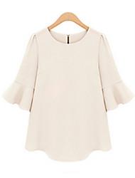 Mufans Women's Korean Style Chiffon Shirt 1430#