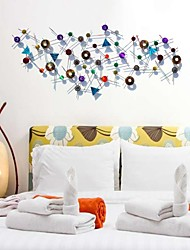 Bellabello®Metal Wall Art Wall Decor, Antique Style Abstract Cirle Wrought Iron Wall Decor