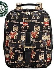 Daka Bear® ombro saco mochila da moda mochila de volta à escola mochila de viagem