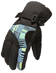 esquí de snowboard ciclismo equitación escalada guantes de los deportes de invierno al aire libre resistente al agua a prueba de viento térmico de