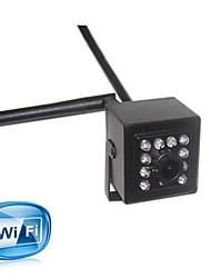 1080P Mini WiFi IR IP Camera Indoor 940nm Ir Led Wireless Ip Camera Pinhole Smallest Night Vision for 2.0MP