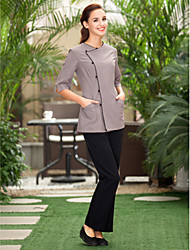 SPA Uniforms Women's Half Sleeve Collarless Beauty Tunic