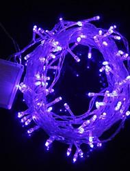10M 9.6W Christmas Flash 100-LED Blue Light Strip Light Lamp (EU Plug , AC 220V)