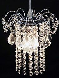 contemporânea contraiu uma luz de teto de cristal varanda lâmpada salão quarto acrílico corredor