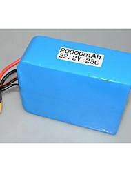 haute qualité 6s de la batterie li-po 22.2V 20000mAh 25c pour FPV 6 axes 8-axe 10 axe 12 axe dji s900