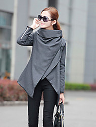 kamengsi Damenmode lässig ausgestattet Tweed Wind Mantel