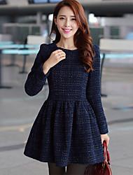 novo vestido de linho fino temperamento manga longa espessamento fina quintal grande assentamento de Zebro mulheres