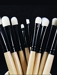 Professional Makeup Brushes Set 9pcs Eye Brushes set Eyeliner Eyeshadow Eyebrow Blending Contour Brush