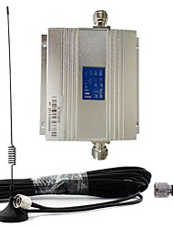 New LCD DCS 1800MHz Cell Phone Signal Repeater Booster Amplifier + Antenna Kit