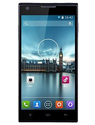 "510 5.0 "" Android 4.4 Smartphone 3G (Double SIM Quad Core 8 MP 512MB + 4 GB Noir Blanc)"