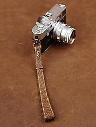 cam-in cam2091-2 genuino pesce in pelle cinturino da polso in pelle per la macchina fotografica