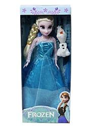 princesse Elsa et l'OLAF 29cm étincelle poupée barbie