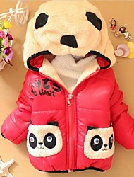 Girl's Blue / Red / Yellow Jacket & Coat Cotton Winter / Spring / Fall