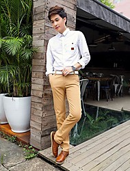 Men's Casual Cotton Long Pants
