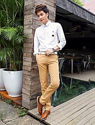Men's Casual Cotton Long Pants