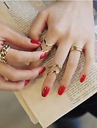 Women's Exquisite Knuckle Finger Nail Ring (1Set)