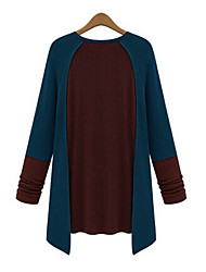 Mufans Women's Contrast Color Shirt 1443#