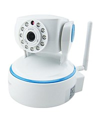 HOSAFE™ 1.0 Megapixel HD Wireless IP Camera with Micro SD Card Recording, Two Way Speak, Motion Detection, Pan/ Tilt