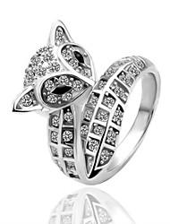 Imposante - en Alliage/Rose Plaqué Or/Diamant/Plaqué Or Soirée/Travail/Décontracté