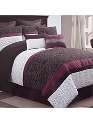 schönen weichen Bettdecke Satz 9 mit 250 g / m2 für Tröster und 50 g / m2 für Shams und Abfüll forcushion Abdeckungen
