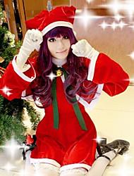 Cardcaptor Sakura Tomoyo Daidouji Red Christmas Costume