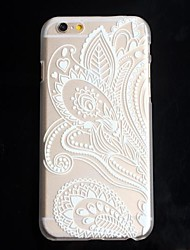 Folk Style  Painting  Hard Back Cover Case for iPhone 6