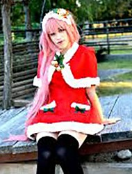 Vocaloid  Megurine Luka Red Christmas Costume