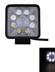 24w тип / ф пятно 6000k 8-СИД Epistar квадратный работа света бар DIY, используемых в автомобиле / лодки / авто фары