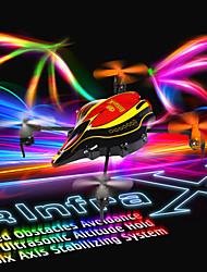 Walkera QR Infra X 6 Axis 4CH UFO Quadcopter BNF/Devo 4/Devo 7 Transmitter
