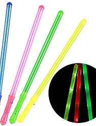 luz cor de emissão de fluorescência stick (cores aleatórias)
