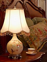 Lampada da tavolo in vetro stile semplice