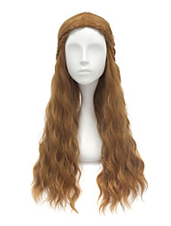 Game of Throne Unisex Anime Hair Cersei Lannister Long Curly Halloween Cosplay Wig