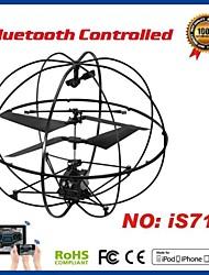 i-contrôle hélicoptère 3.5ch rc avec le compas gyroscopique pour iPhone, iPad et Android I717