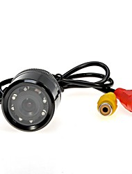 "HD Waterproof 1/4"" Colorful CMOS TFT LCD 10-LED Car Rear View Reversing Parking Backup Camera Supports Night Vision"