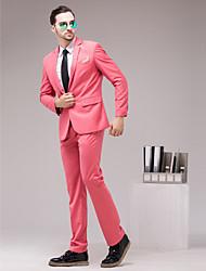 Watermelon Serge Slim Fit Two-Piece Suit