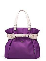 más popular venta caliente bolso de la mujer de nylon de la vendimia dama de la moda