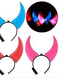 Les cornes lumineuses surdimensionnés (couleurs aléatoires)