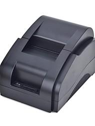 stampante di ricevute di cassa termica xprinter xp-58iih usb (nero)